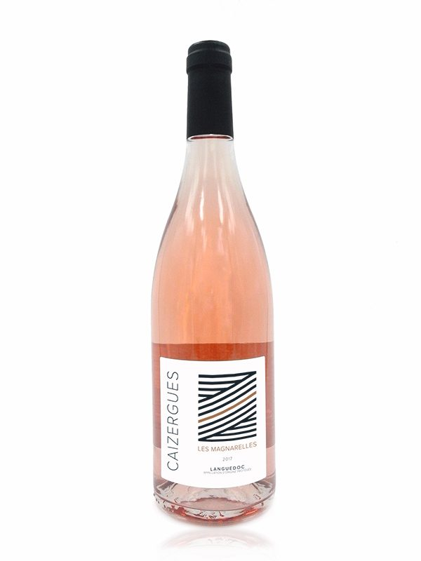 Bottle shot of Les Magnarelles, Rose made by Domaine Les Caizergues
